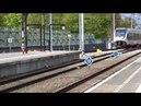 SLT richting Zwolle komt aan op Station Almere Centrum!