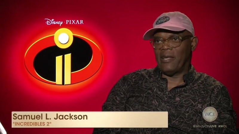 Incredibles 2 stars Samuel L. Jackson, Bob Odenkirk and Catherine Keener