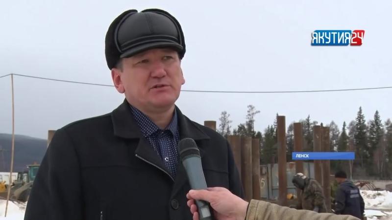 Ленская нефтебаза показала свою готовность к предстоящему паводку