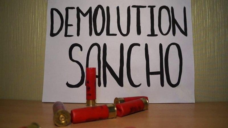 Бронепластина будущего   Разрушительный санчо   Demolition Sancho