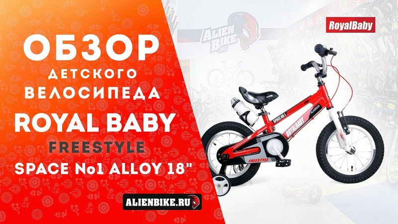 Детский велосипед Royal Baby Freestyle Space №1 Alloy 18