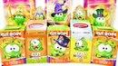 АМ НЯМ Cut the Rope Mix СЮРПРИЗЫ с игрушками игра и мультик Om Nom Kinder Surprise eggs unboxing