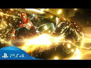 Marvel's Spider-Man | E3 2018 Showcase Demo | PS4