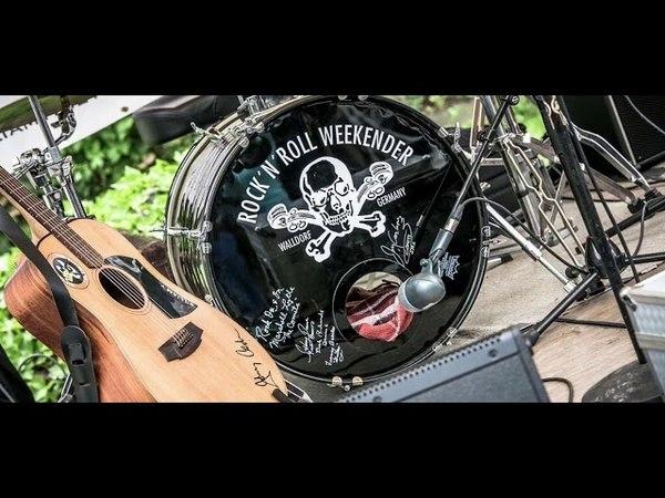 William T The Black 50 's - Rock'n'Roll Weekender Walldorf - Pool Party 2018