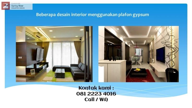 Tukang Gypsum Bandung 081 2223 4106
