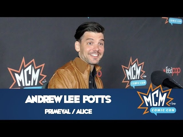 Andrew Lee Potts, Star Of Primeval Alice Interview from MCM Comic Con London - May 2018