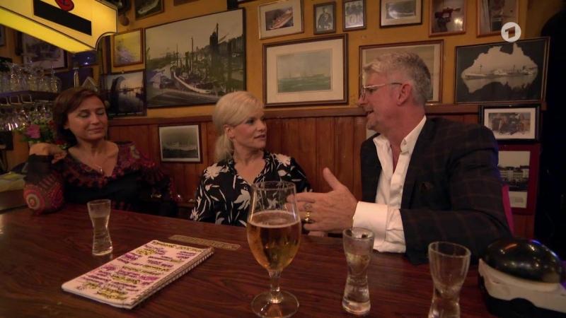 Inas Nacht mit Sandra Maischberger und Heinz Strunk
