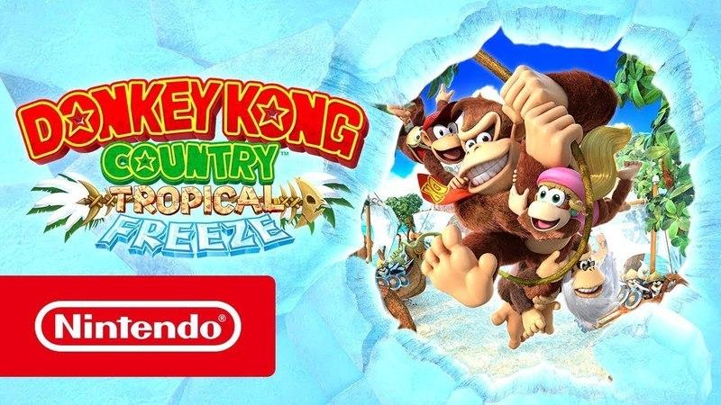 Donkey Kong Country: Tropical Freeze — рекламный ролик