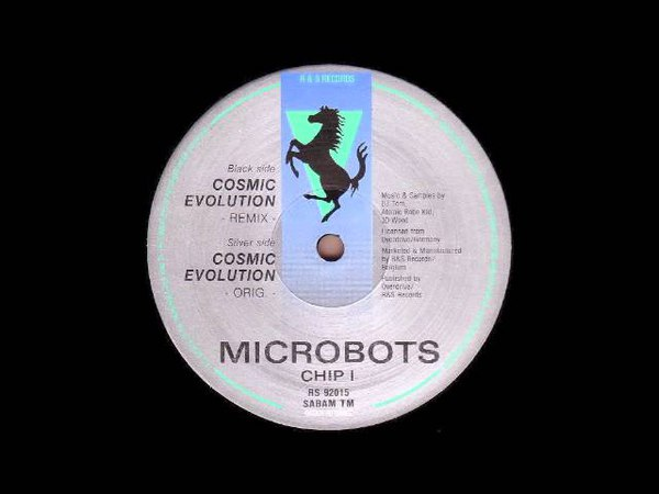 Microbots - Cosmic Evolution (Overdrive - RS Records)