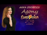 Ana Odobescu - Agony ( Eurovision Moldova 2018)