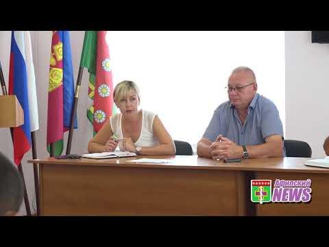 Совещание в Афипском на на ул.Шоссейной 27.07.18. видео: Абдрахманов Игорь