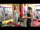 Тренировка на мышцы рук и спины