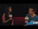 Selena Gomez and JoJo Backstage Interview