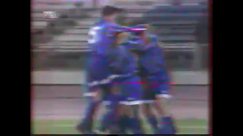 Кубок УЕФА 1994/95. Динамо Москва - Реал Мадрид (Испания) - 2:2 (0:1).