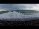 Смотри со мной Сочи Начало шторма на море