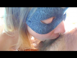 Whipped cream fun for blonde russian teen sister