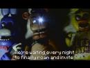 Кадры из отменённого MV FNaF Song - Remake
