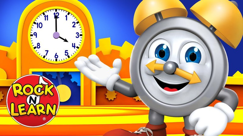 Telling Time to the Half Hour Songs and Rhymes