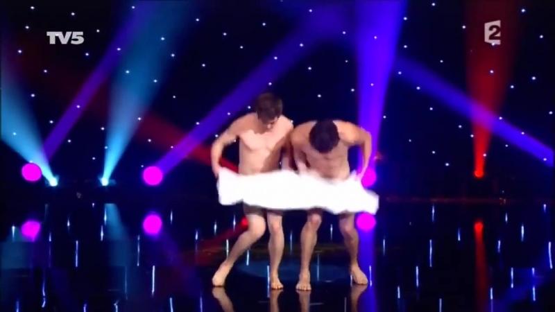 Naked Towel Dance
