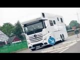 Mercedes VARIO Alkoven 1200 самый роскошный дом на колесах