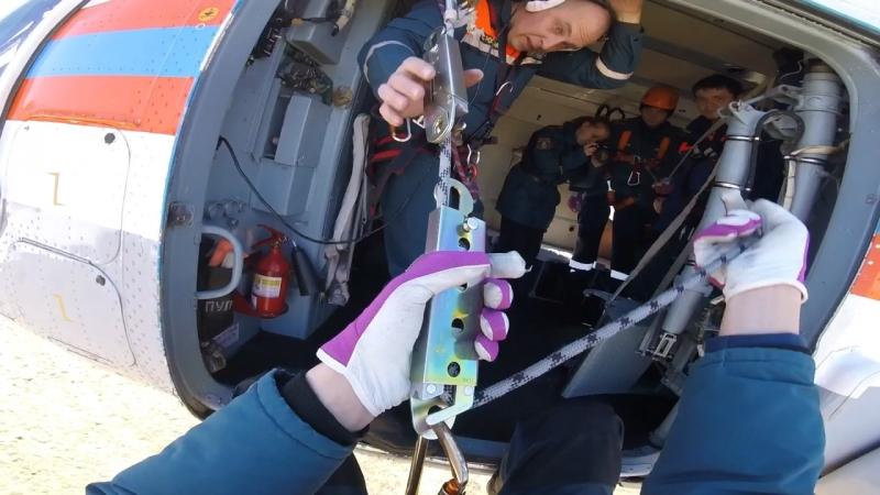 Учения уральского регионального поисково-спасательного отряда
