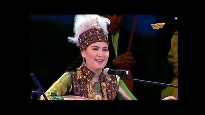 Ардақ Балажанова - Халық әні Қара жорға Ardak Balazhanova -Kara jorga