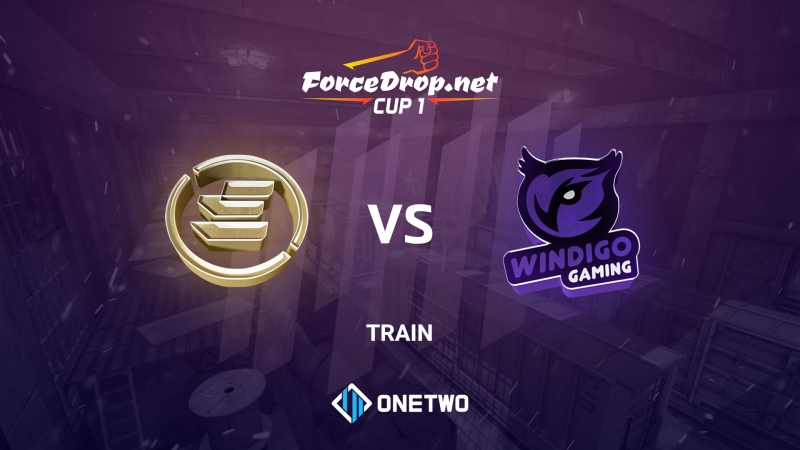 EPG vs Windigo (de_train) | ForceDrop.net Cup 1