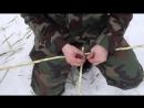 Уроки выживания, сделай снегоступы.mp4.mp4