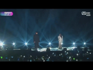 171201 EXO Chanyeol  Soyou - Stay With Me @ 2017 Mnet Asian Music Awards in Hong Kong