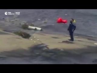 В Швеции спасли россиянина, пытавшегося доплыть до Испании