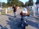 Yamaha Super Jog ZR vs Suzuki hayabusa 1300