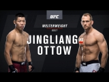 UFC Fight Night 122 Jingliang vs Ottow