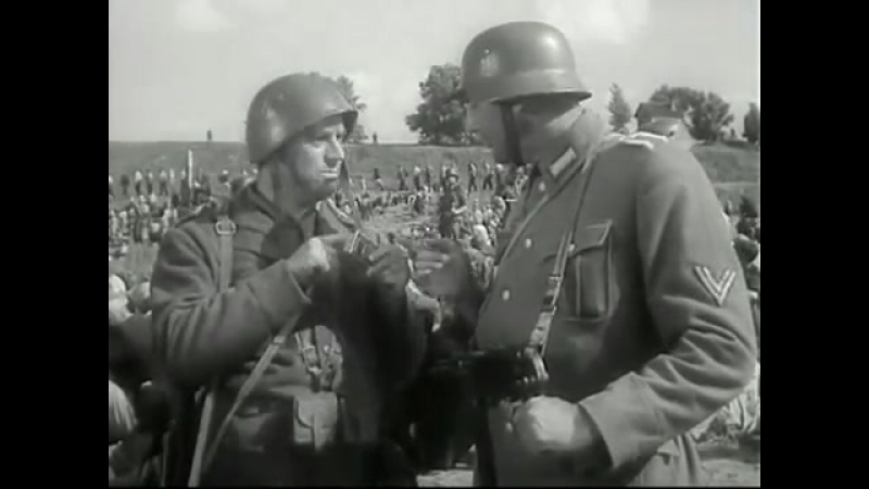 Интернационал в итальянском концлагере - фрагмент х-ф Они шли на восток, 1964 г.