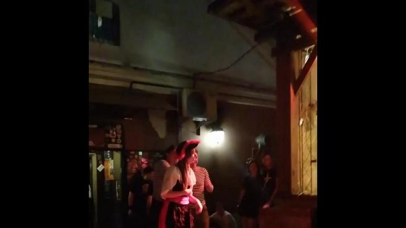 Пиратская вечеринка в Найт трейне. 22.06.2018г.
