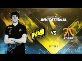 NAVI vs Fnatic @SLi Invitational 5