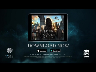 Harry Potter: Hogwarts Mystery, available now!