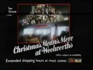 Рождественская TV реклама 1986 года с голосом Тома Бейкера