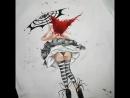 авторская роспись верхней одежды от @knaus_handmade