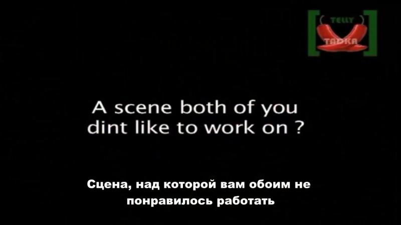 Барун Собти и Саная Ирани интервью August 2011 (1)