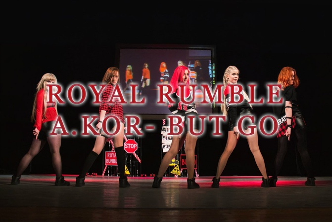 A.KOR - INTRO BUT GO (ROYAL RUMBLE DANCE COVER) (에이코어) - 벗 고