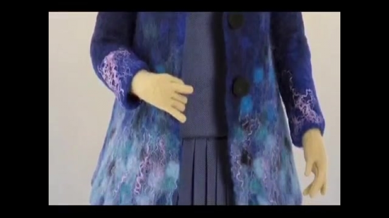 Creating felt clothing and accessories