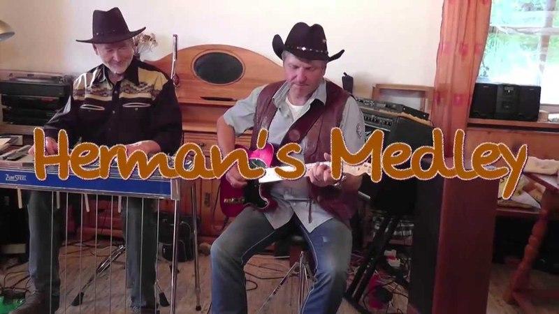 Herman's Medley Guitar Pedal Steel Guitar