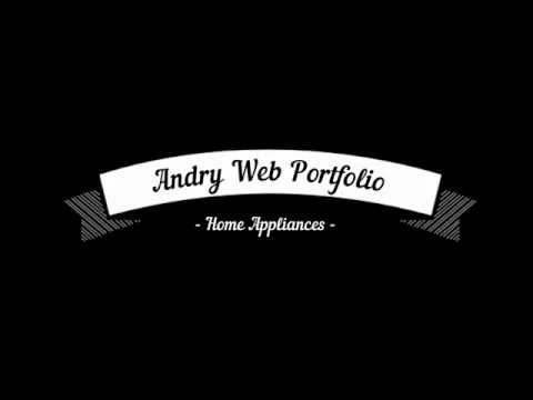 Andry Web Portfolio: Home Appliances - Портфолио ИП Новиков: Бытовая Техника.