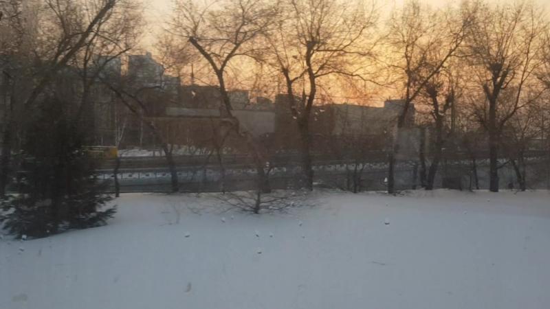 подъезжаем к Новосибирску с г Омска