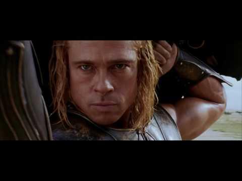 фрагмент из фильма Троя Битва ГектОра и Ахиллеса