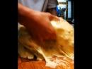 Тесто на панеттоне складывания Panettone a Stretch Fold