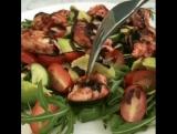 Сытный и вкусный салат для тех, кто на ПП.