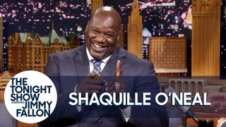 Shaquille O'Neal Let Rob Gronkowski Ride on His Shoulders