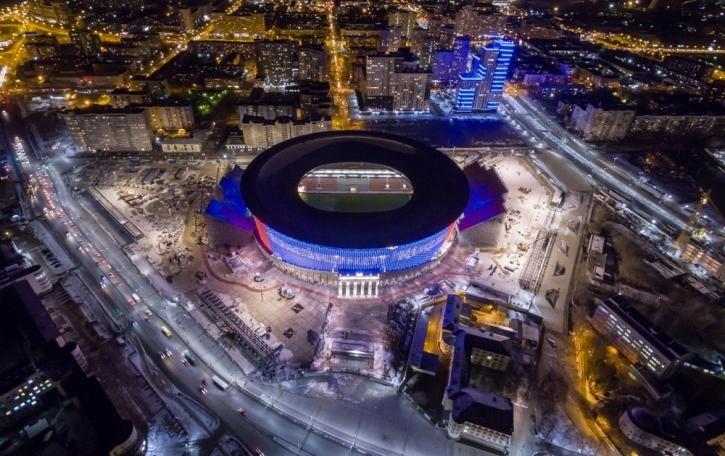 ЧМ по футболу – 2018 FIFA в Екатеринбурге: расписание матчей по группам, стадион «Екатеринбург Арена»