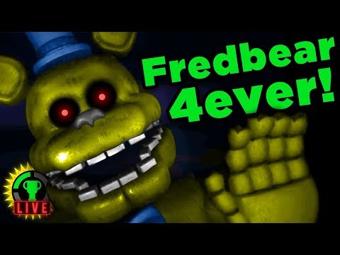 GTLive: The Scariest FNAF Game Ever?!   Fredbear and Friends: Reboot